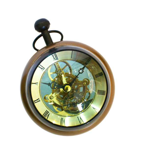 8132 skeleton clock rounded a