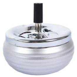 22329 Ashtray Metallic Silver