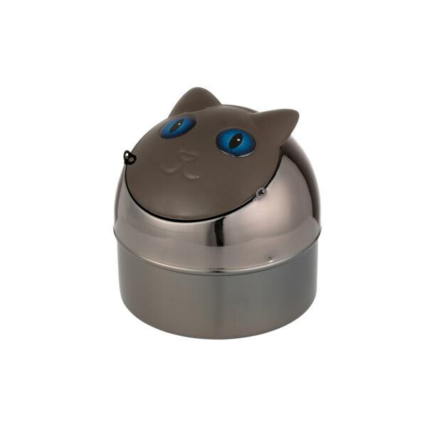 400011---Ashtray-Cat-Black