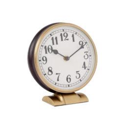 55286T Clock Brass Bronze Aviavtion Style 1