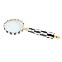 56003 Magnifier Hand Held Black White a