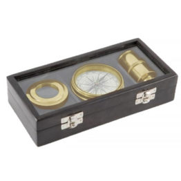 56829 Gift Set 3 Piece Brass