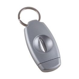 Xikar VX Cigar Cutter Keychain Silver