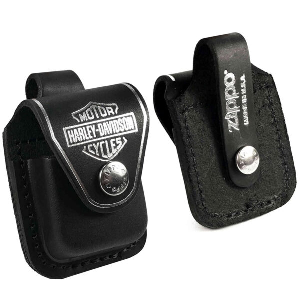 6010 H D Pouch Motor Harley Davidson Cycles Gift Set front and back