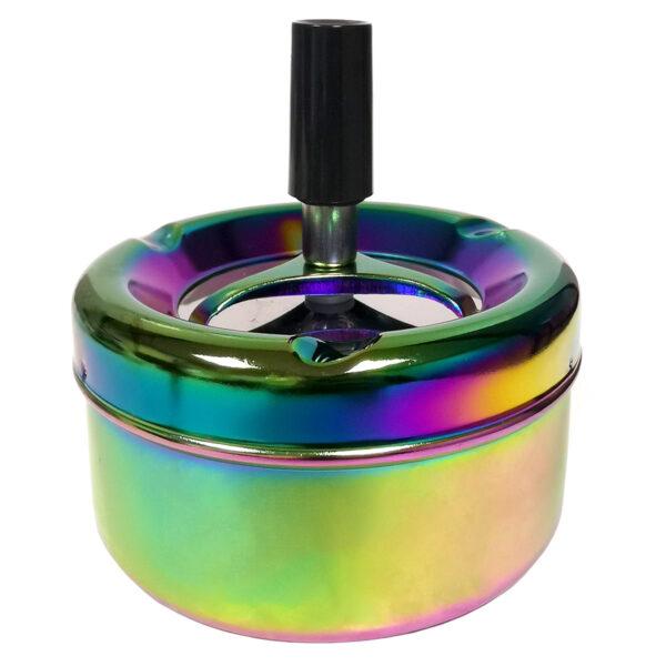 9025 Spinning Ashtray Holographic
