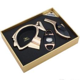 9152 Cohiba Ashtray Cutter Lighter Gift Set